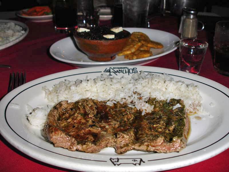 Nicaragua: MANAGUA: Das Spezialitäten-Restaurant Los Ranchos