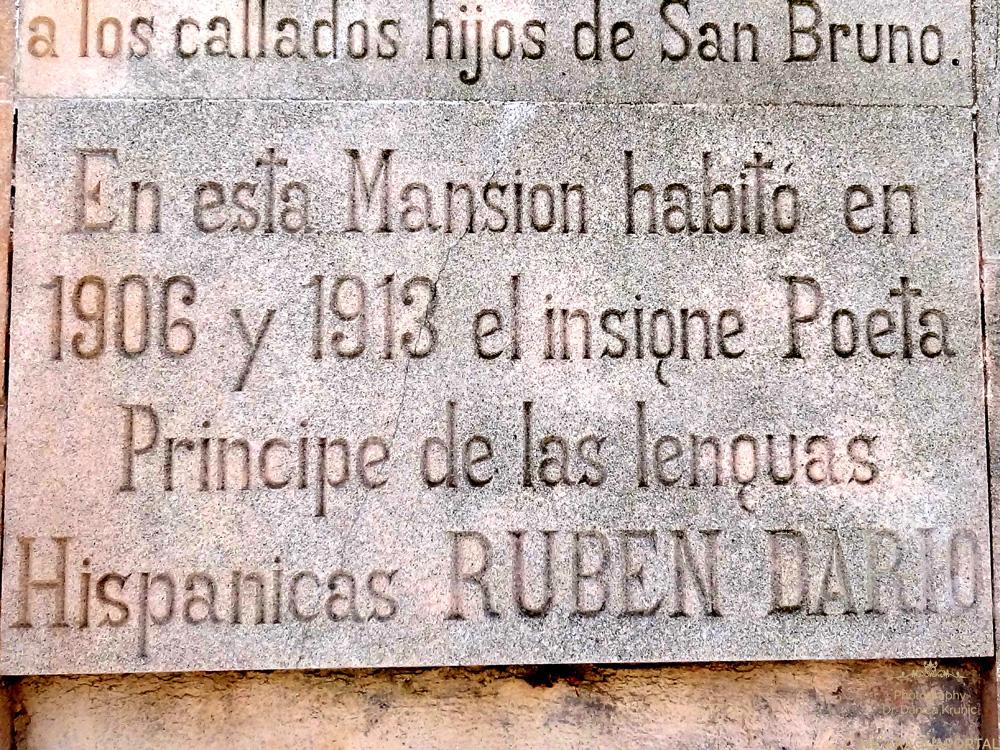 Nicaragua: Ruben Dario: Mallorca, Valdemossa