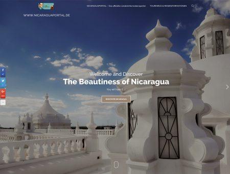 Das Nicaraguaportal erstrahlt in neuem Glanz