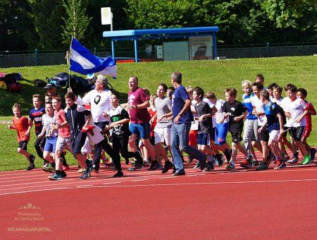 Nicaragua Lauf der Geschwister-Scholl-Schule in Konstanz
