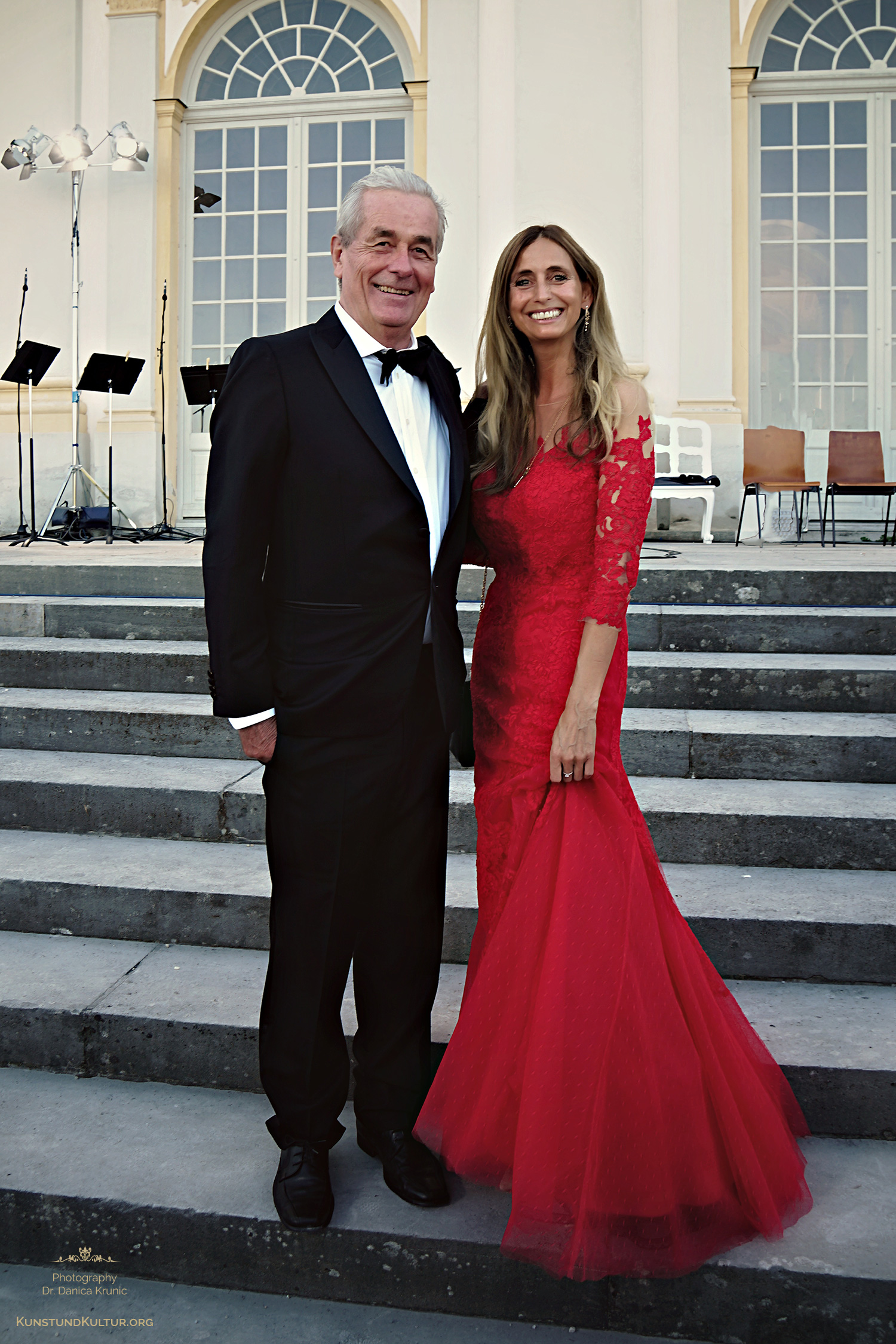 Honorarkonsul Dr. Horst Engler-Hamm und Dr. Danica Krunic