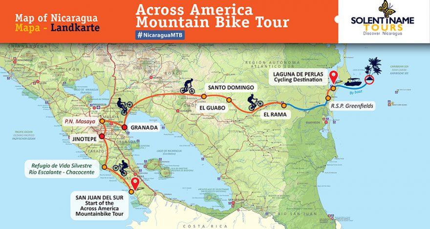 Mit dem Mountainbike durch Nicaragua